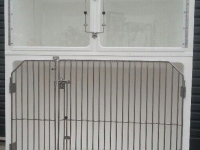 Assessment 1 cage unit,  1 x Large A and 2 x Small A cages, Cage Solutions by Richmond Fibreglass