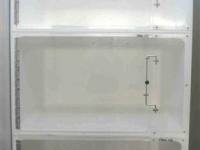Cat Hospital 1 cage unit, 3 x Medium A cages, Cage Solutions by Richmond Fibreglass