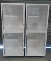 Cat Low Stress 2 cage unit, Cage Solutions by Richmond Fibrglass