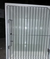 Large A cage with stainless steel door
