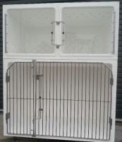 Assessment 1 cage unit  1 x Large A and 2 x Small A cages Cage Solutions by Richmond Fibreglass (002)