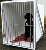 Dog Hospital 1 1 x Large B cage  Cage Solutions by Richmond Fibrglass (002)