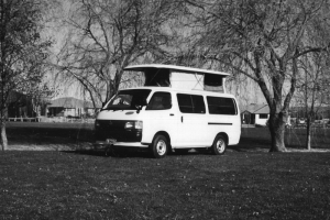 Pop top camper
