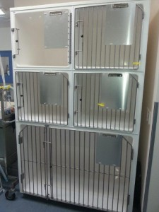 5 cage unit Richmond Fibreglass
