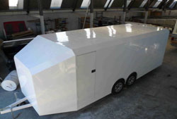 Trailer Cladding